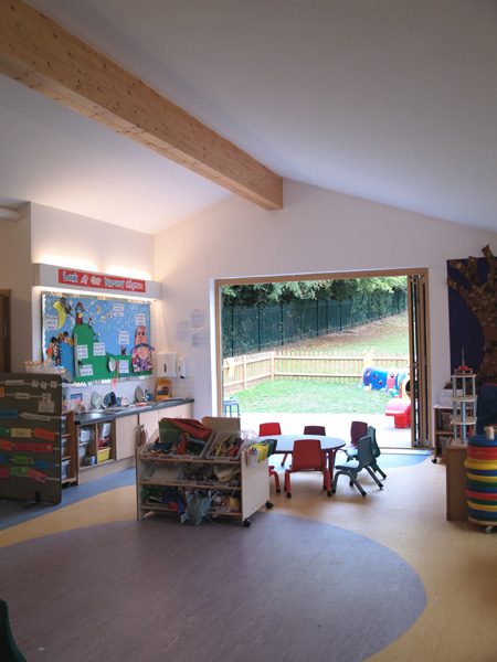 New playgroup building